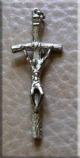 """католический крестик """"папский крест"""""""