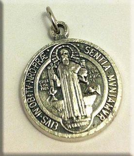 медальон святой бенедикт купить